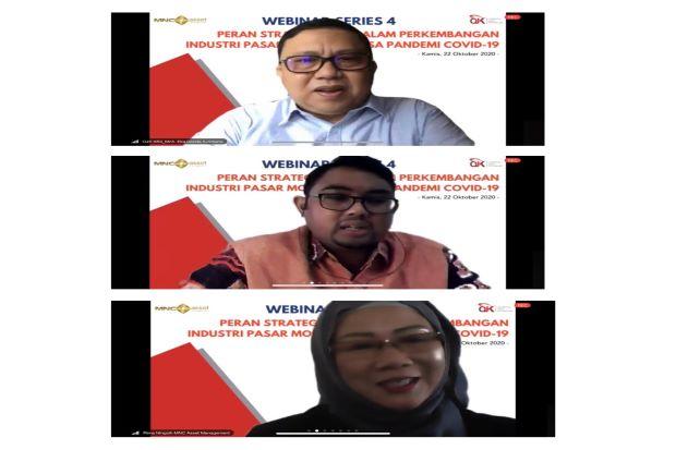 Sukses Gelar Webinar Series 4 Bersama OJK, MNC Asset: Ini Bentuk Sinergitas Bersama Regulator