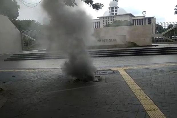 Ledakan dan Asap di Gorong-gorong Masjid Istiqlal, PLN UID Jaya Ungkap Penyebabnya