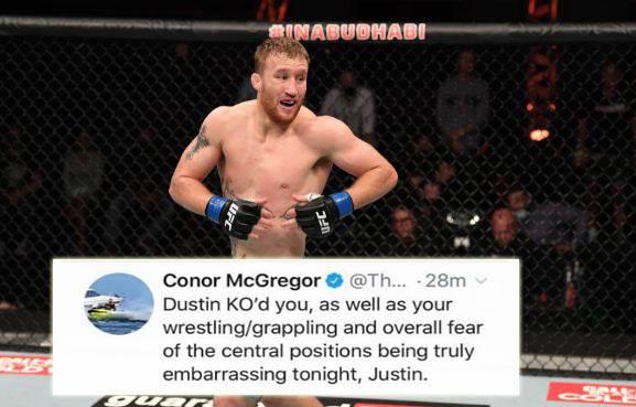 Nantang Duel, Eh, Dibatalkan, Conor McGregor: Gaethje, Kamu Memalukan!