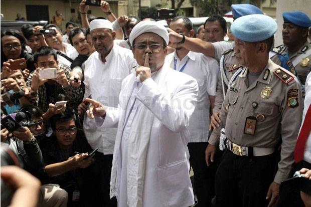 Persilakan Habib Rizieq Pulang, Mabes Polri Sebut Kasusnya Bergantung Polda