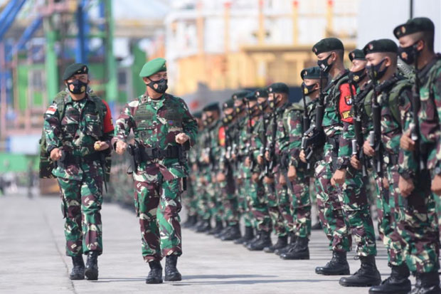 Kodam Hasanuddin Kirim 450 Prajurit Amankan Perbatasan Papua