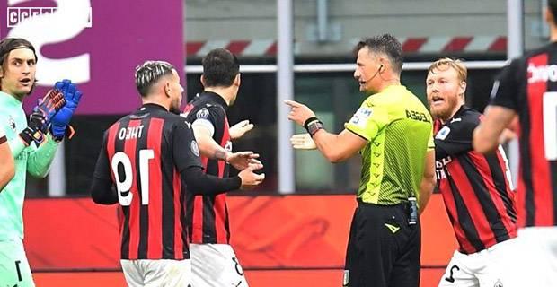 Wasit Pertandingan AC Milan-AS Roma Diskors, Ada Apa?