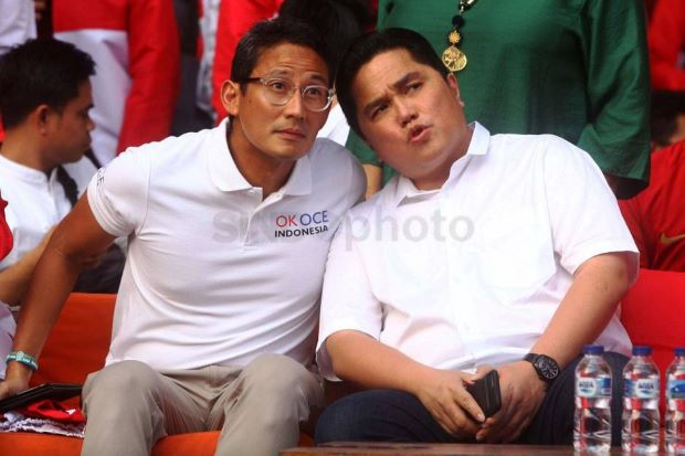 Terungkap! Persahabatan Erick Thohir dengan Sandiaga Uno Ternyata Bermula dari Tawuran