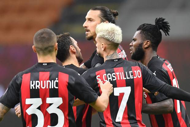 AC Milan Tak Sabar Main di Liga Champions