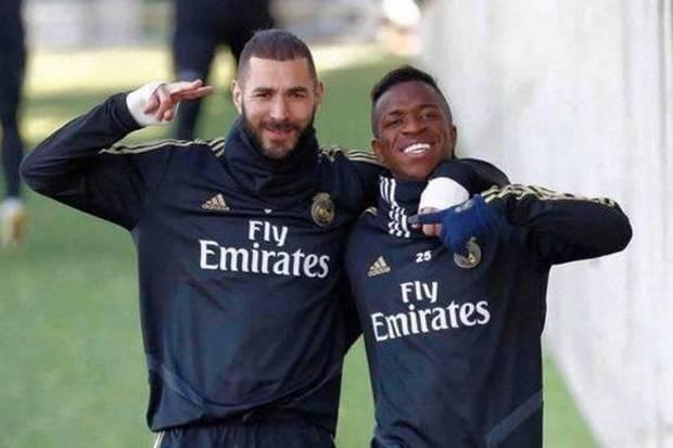 Real Madrid Tenang Lagi, Benzema dan Vinicius Sepakat Damai