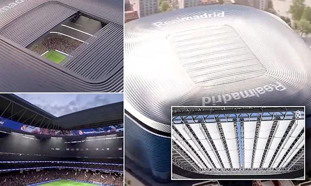 Real Madrid Pamer Progres Renovasi Stadion Santiago Bernabeu