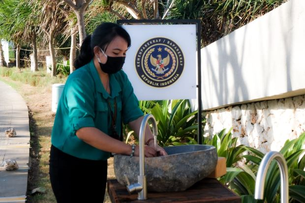 Kemenparekraf Bakal Bikin Kinclong Toilet di 9 Kabupaten/Kota di Bali