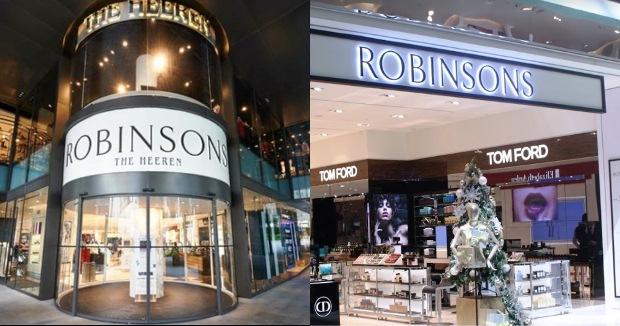 Nyerah! Setelah 162 Tahun, Robinsons Singapura Tutup