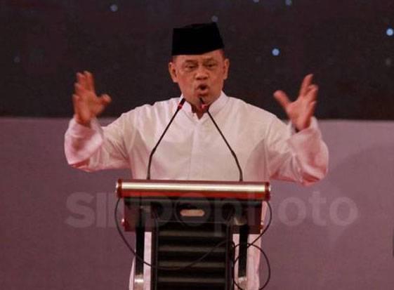 Presidium KAMI Gatot Nurmantyo menjadi salah satu figur yang masuk dalam bursa calon presiden 2024. Elektabilitasnya bahkan mengalahkan Mahfud MD dan Puan Maharani.