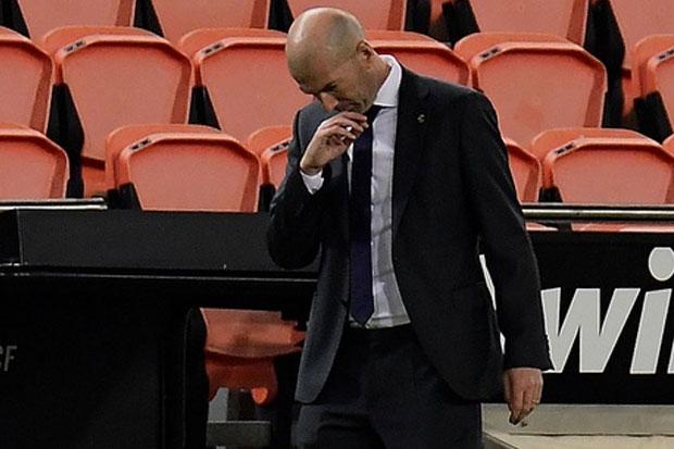 Real Madrid Dipermalukan Valencia, Zidane Siap Bertanggung Jawab