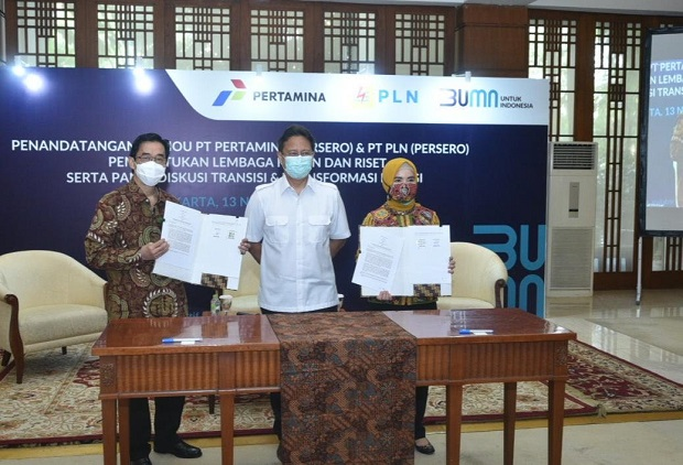 Bangun Pusat Riset Energi, Pertamina-PLN Dirikan Indonesia Energy and Electricity Institute