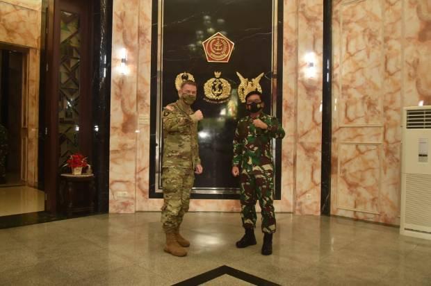 Panglima TNI Terima Kunjungan Kehormatan Kasad Amerika