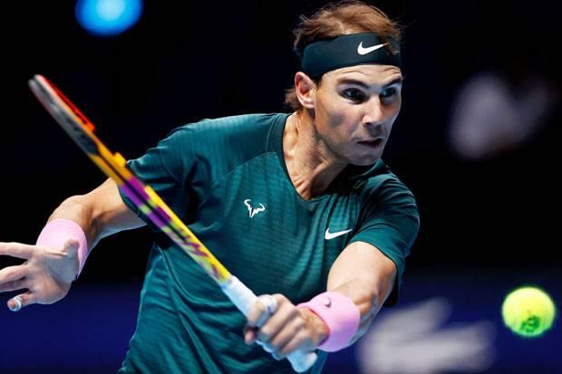 Nadal Menang Mudah di Laga Pembuka ATP Finals