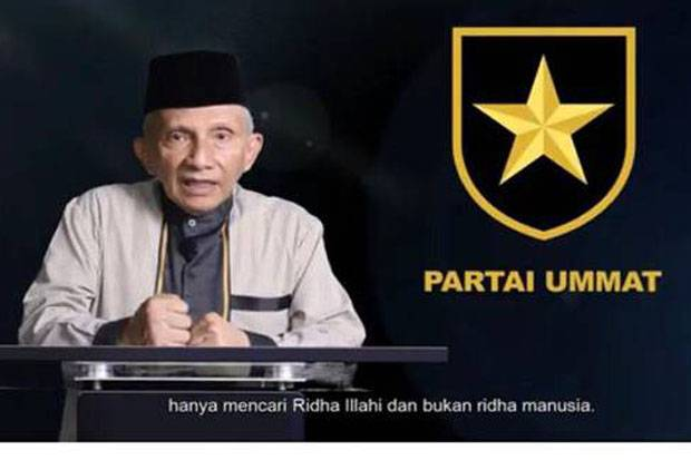Amien Rais Rilis Mars Partai Ummat, Netizen Singgung PAN