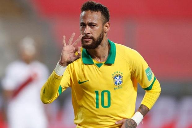 Pelatih Uruguay Mengaku Lega Brasil Tak Diperkuat Neymar