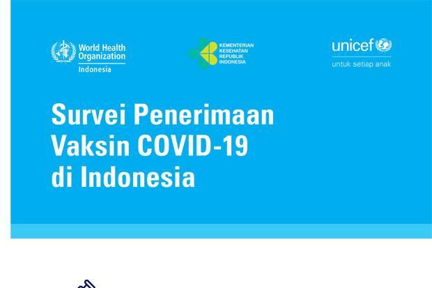 Mayoritas Masyarakat Indonesia Bersedia Menerima Vaksin Covid-19