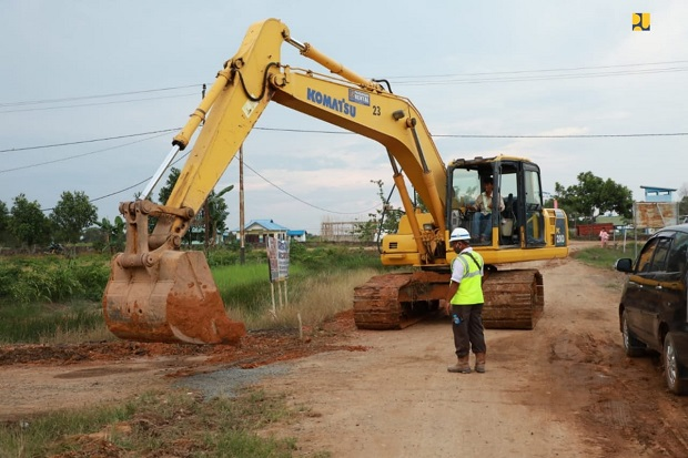 Kementerian PUPR Tingkatkan Konektivitas Food Estate Kalteng