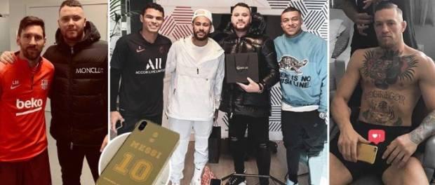 Ketika Messi, Conor McGregor Tergila-gila iPhone Emas 24 Karat