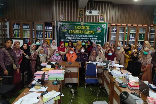Prodi Sarjana dan Pendidikan Profesi Bidan Unimerz Jalani Asesmen Daring