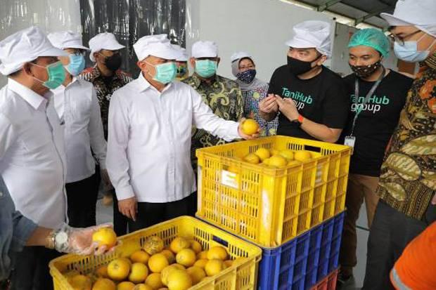 Menkop UKM Perkuat Kemitraan Koperasi dengan TaniHub dalam Menyerap Hasil Pertanian