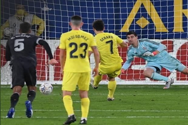 Kutukan Real Madrid di Kandang Villarreal Berlanjut
