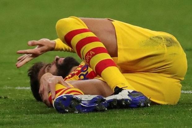 Pique dan Sergi Roberto Terkapar, Begini Pernyataan Resmi Barcelona