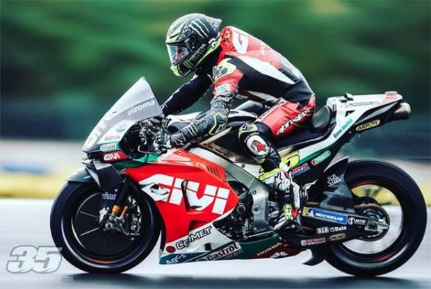 Cal Crutchlow Tercepat di Sesi Pemanasan MotoGP Portugal