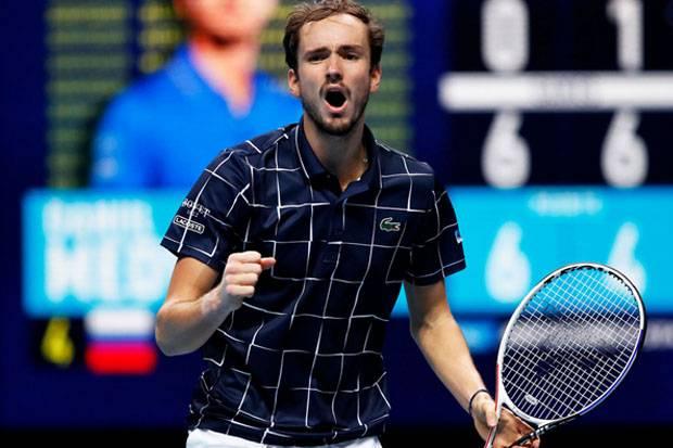 Singkirkan Nadal, Medvedev Tantang Thiem di ATP Finals 2020
