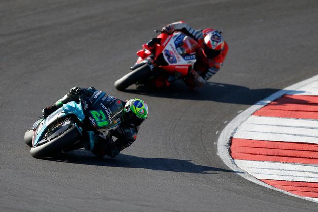 Morbidelli Puas Masuk Podium pada Seri Penutup MotoGP 2020