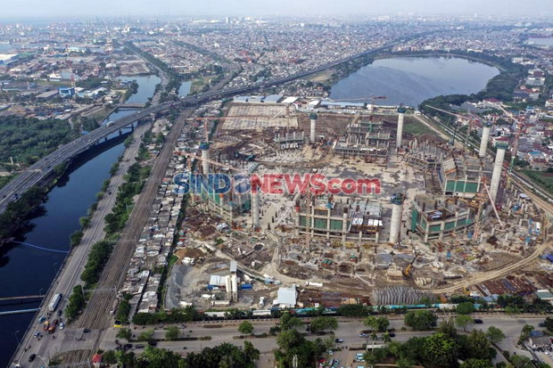 Anies Dapat Dana PEN, Pembangunan Stadion Markas Persija Jakarta Berlanjut