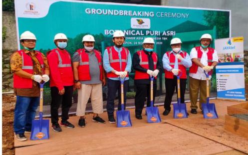 REAL Repower Asia Pacu Pembangunan Perumahan di Wilayah Depok