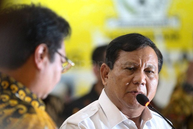 Soal Penangkapan Menteri KKP, Prabowo Minta Tunggu Laporan Resmi KPK