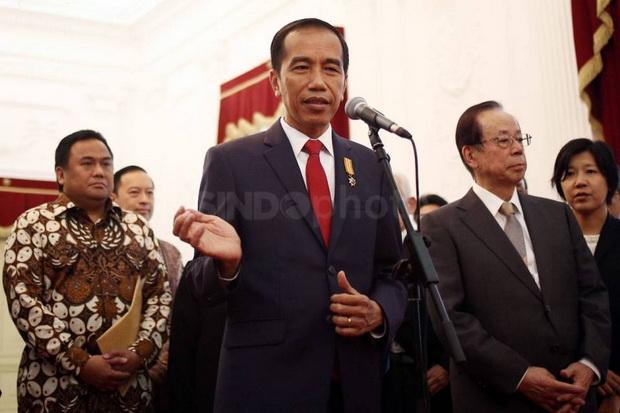 Menterinya Ditangkap KPK, Jokowi: Kita Hormati Proses Hukum