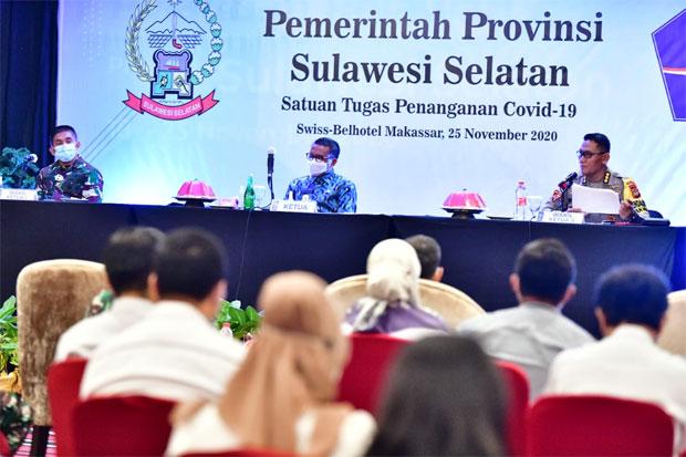 Gubernur Harap Penanganan COVID-19 Sulsel Tetap Jadi Contoh Nasional