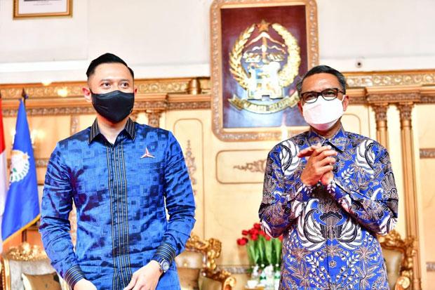 AHY Puji Keberhasilan Gubernur Sulsel Tangani COVID-19