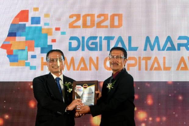 BPJamsostek Sabet 2 Penghargaan di Ajang Digital Marketing & Human Capital Awards 2020
