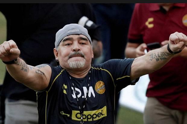 Sebelum Meninggal, Maradona Sempat Sukses Jalani Operasi Penggumpalan Darah di Otak
