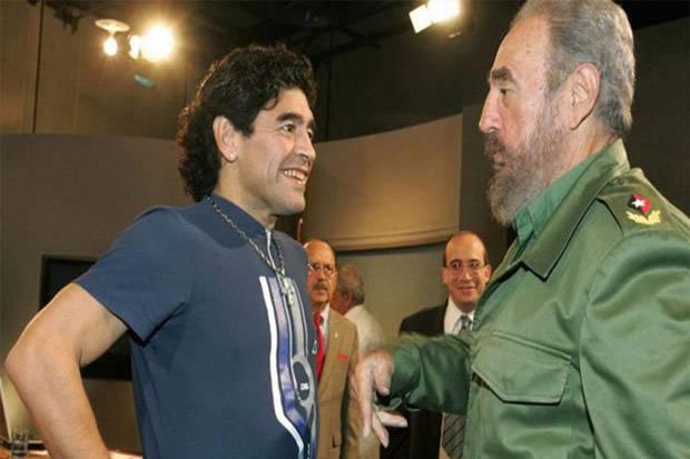 Persahabatan Abadi Maradona-Fidel Castro Meninggal di Tanggal yang Sama
