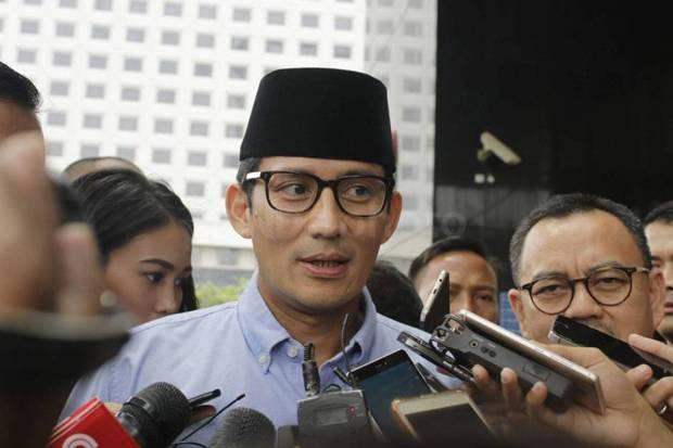 Sandiaga Uno Berpeluang Besar Gantikan Edhy Prabowo di Kabinet