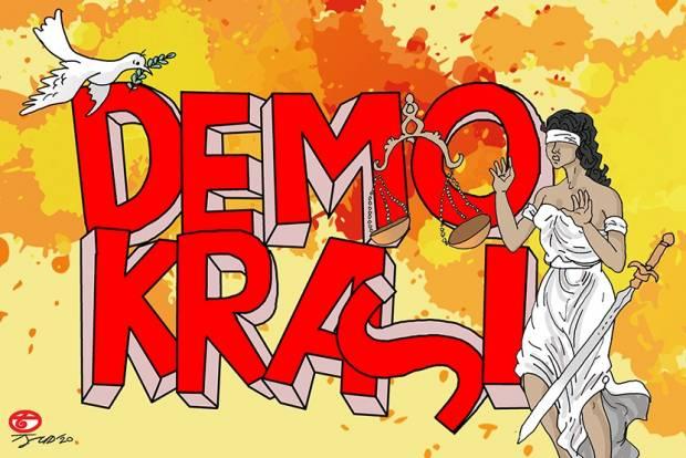 Kebebasan Sipil di Indonesia Alami Kemunduran