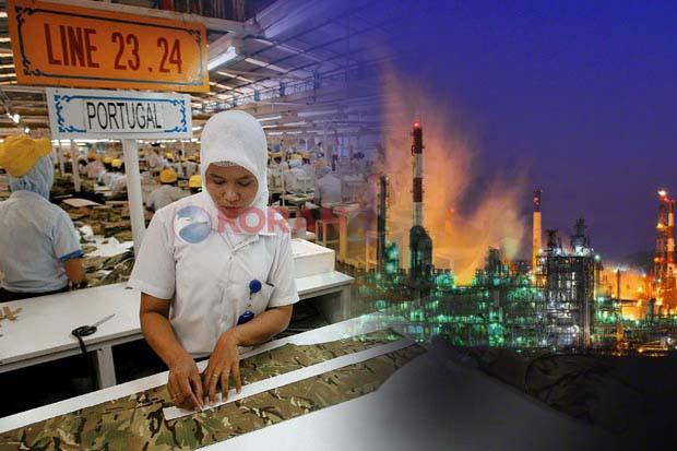 Gegara Covid-19, Serapan Tenaga Kerja Industri Pengolahan Turun