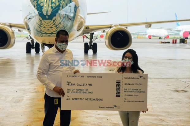 Jelang Libur Akhir Tahun, 75.000 Tiket Garuda Ludes Terjual
