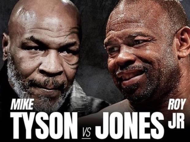 Mike Tyson vs Roy Jones: Juri Tetapkan Pemenang dari Jarak Jauh