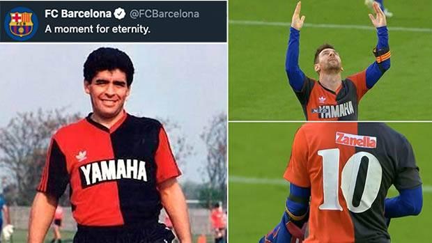 Messi Cetak Gol untuk Maradona, Begini Kata Ronald Koeman