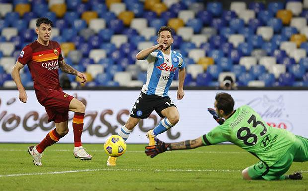Pakai Jersey Khusus Maradona, Napoli Sukses Bantai Roma