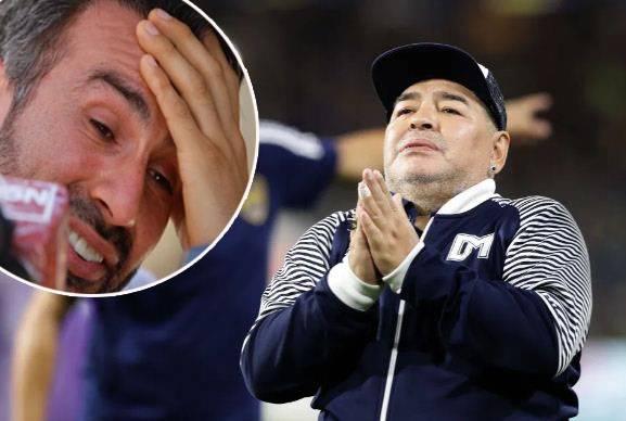 Sebelum Gagal Jantung, Maradona Bertengkar dengan Dokter Pribadinya