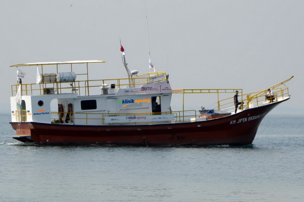 Jangkau Pulau Terpencil, Kimia Farma dan BWA Luncurkan Klinik Apung