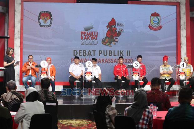 Batal di Makassar, Debat Ketiga Pilwalkot Kembali ke Jakarta