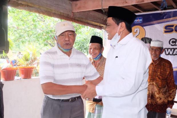 Eks Legislator Barru Ajak Warga Desa Palakka Coblos Suardi Saleh-Aska Mappe