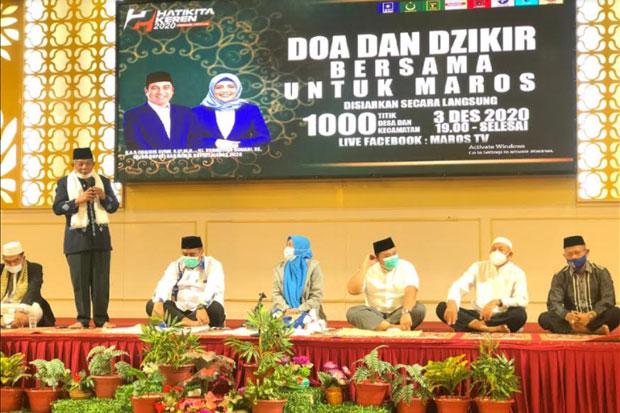 Chaidir-Suahrtina Tutup Kegiatan Kampanye dengan Doa dan Zikir